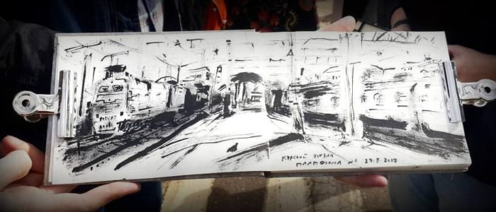Курский вокзал. Платформа 4