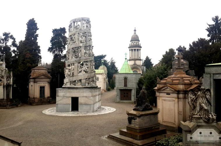 Блог Кати Осиной. Прогулка по кладбищу Cimitero Monumentale в Милане.