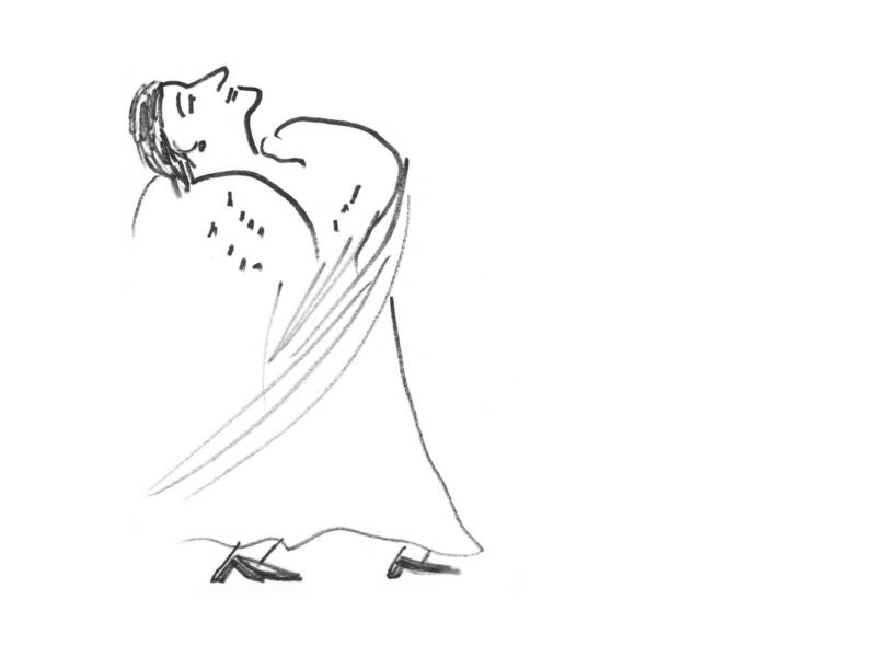 Блог Кати Осиной. Рисунки из путешествий. Как нарисовать танец?