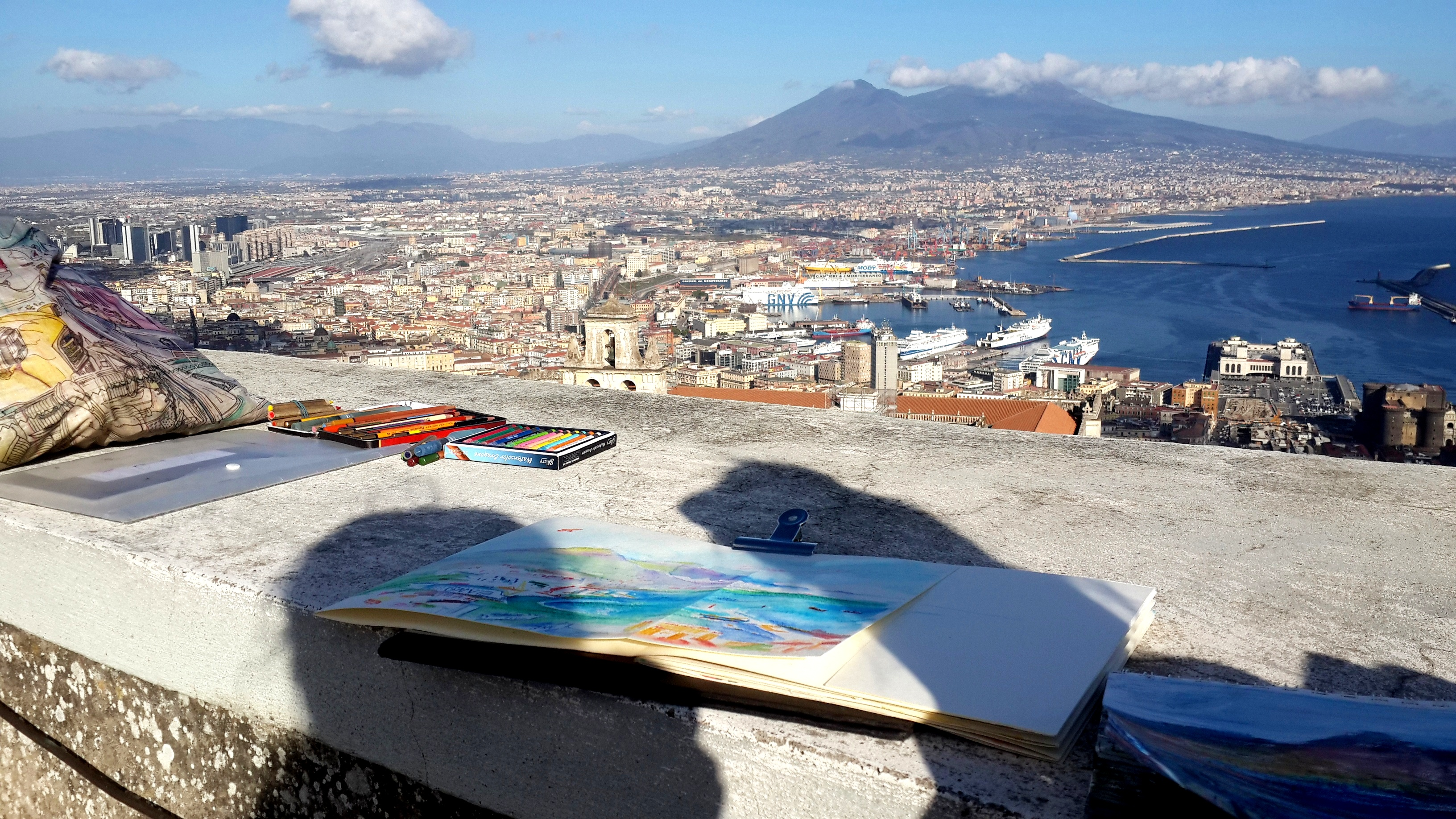 Блог Кати Осиной. Мои итоги 2017 : путешествие в рисунках по 14 городам.