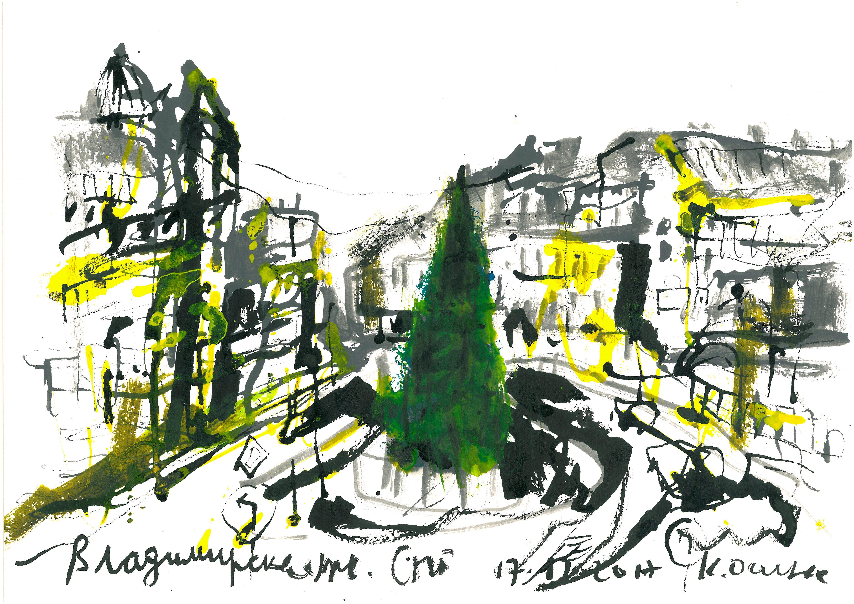 Блог Кати Осиной. Путешествие в Петербург.