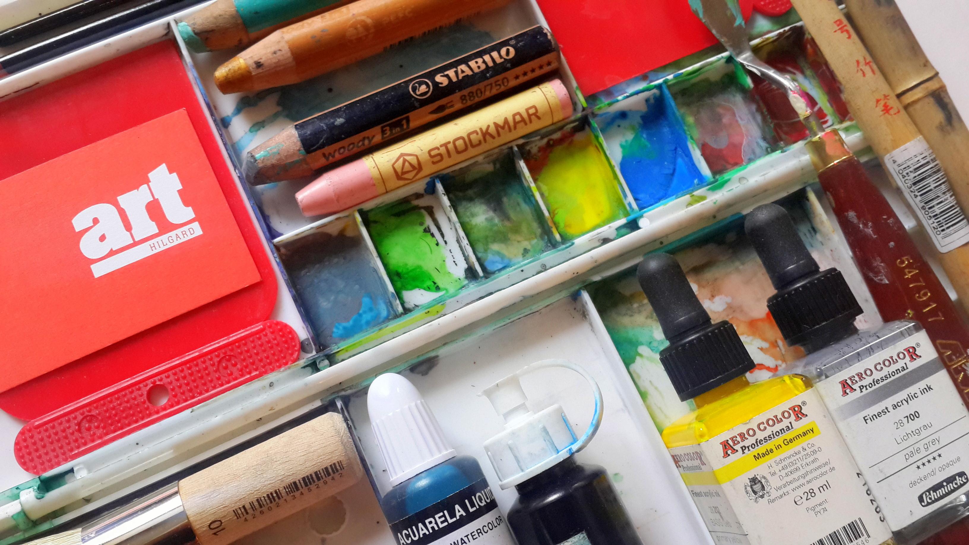 Блог Кати Осиной. Где покупать художественные материалы.
