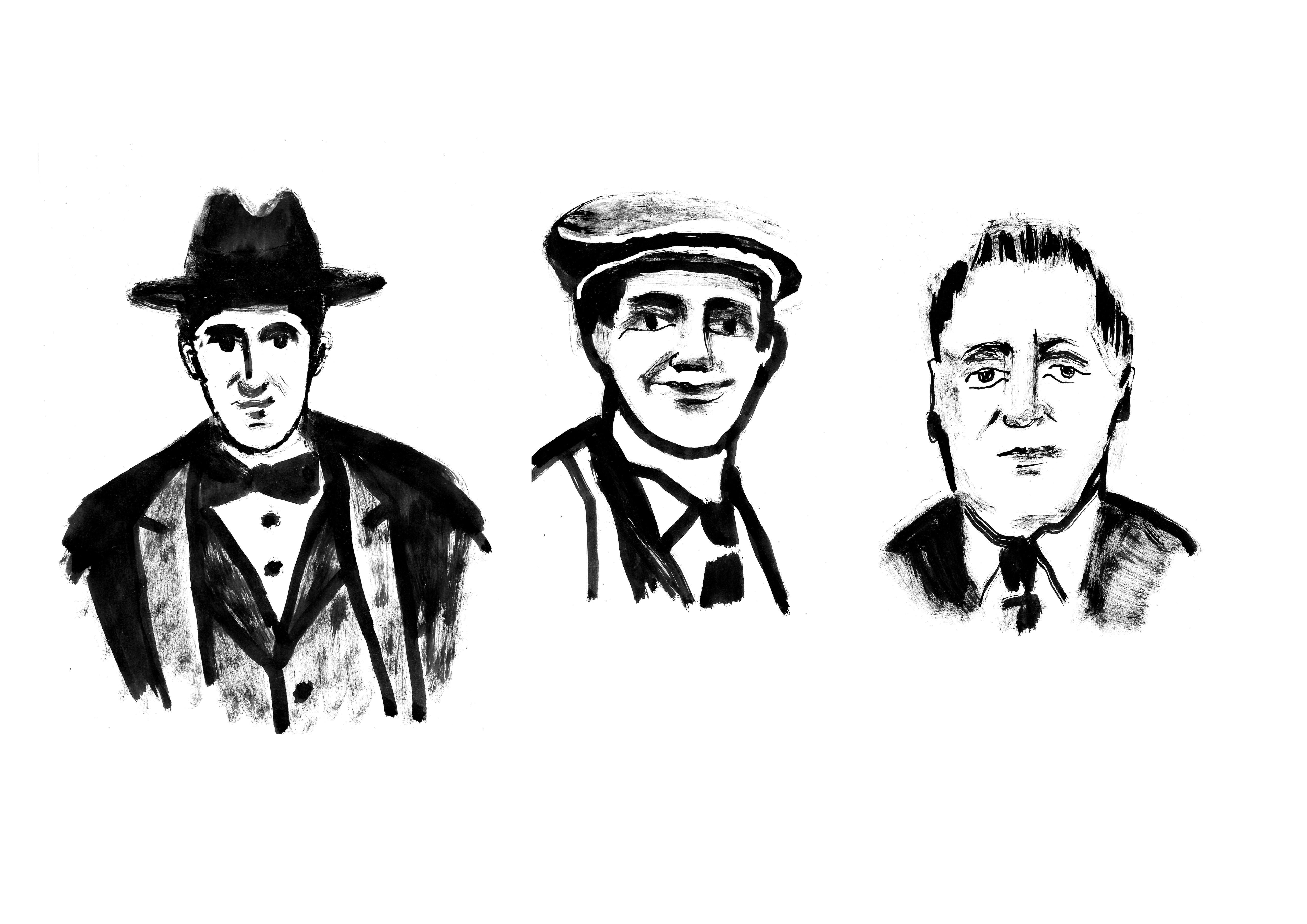 Блог Кати Осиной. Рисунки из Путешествий. Как понять Баухаус?Гропиус, Мейер, Мис ван дер Роэ