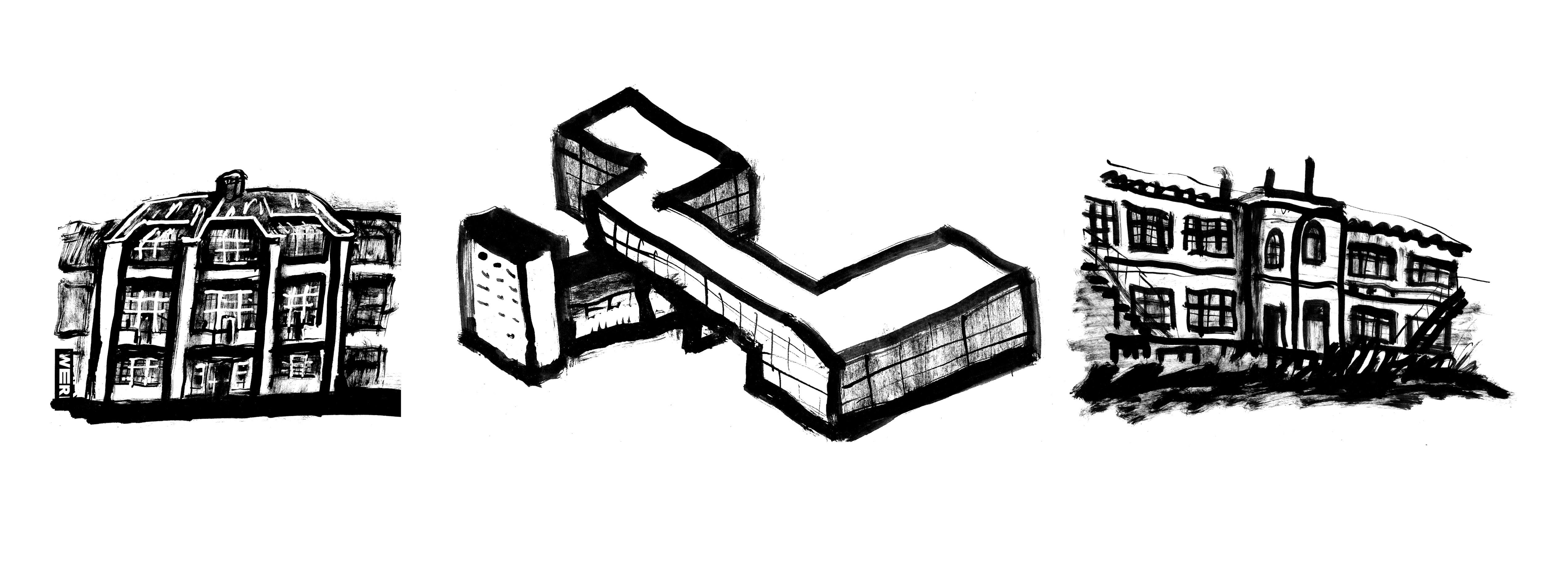 Блог Кати Осиной. Рисунки из Путешествий. Как понять Баухаус? Адреса школ