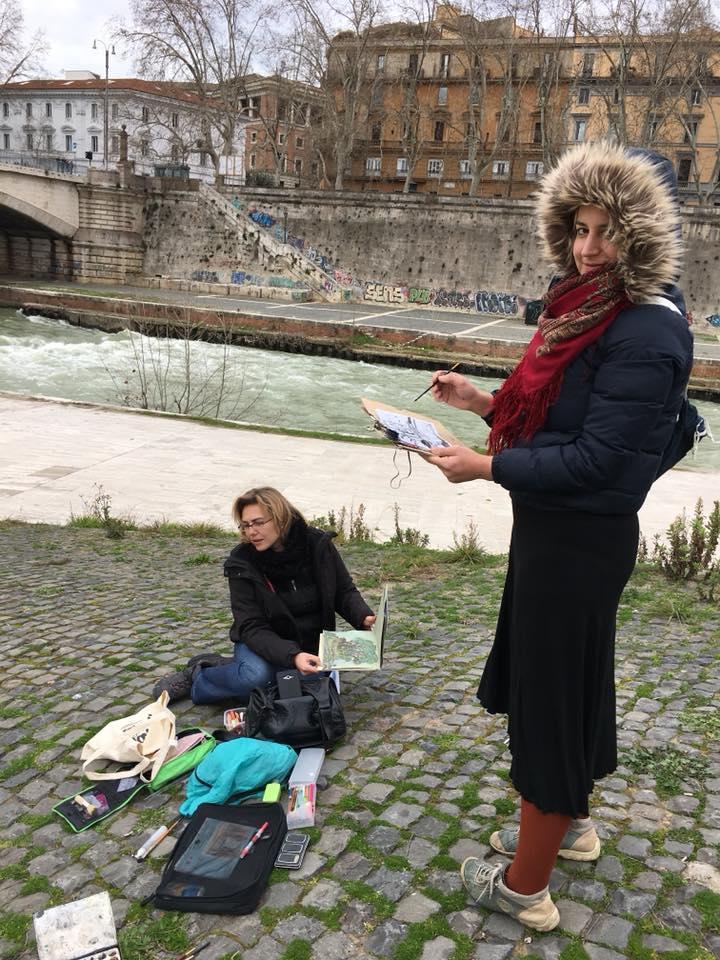 Блог Кати Осиной. Рисунки из путешествий. Мои итоги 2018 года: путешествие в рисунках по 15 городам