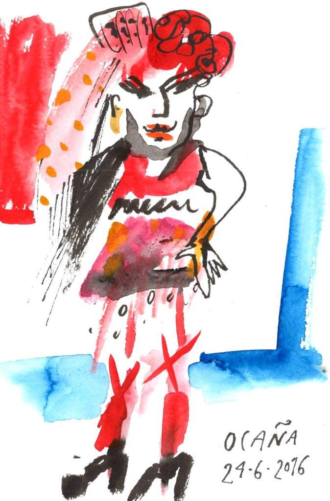 Блог Кати Осиной. Рисунки из путешествий. Шесть дней в Барселоне (июнь 2016)