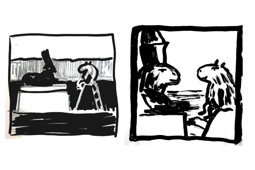 Блог Кати Осиной. Рисунки из путешествий. Что я думаю о сфинксах