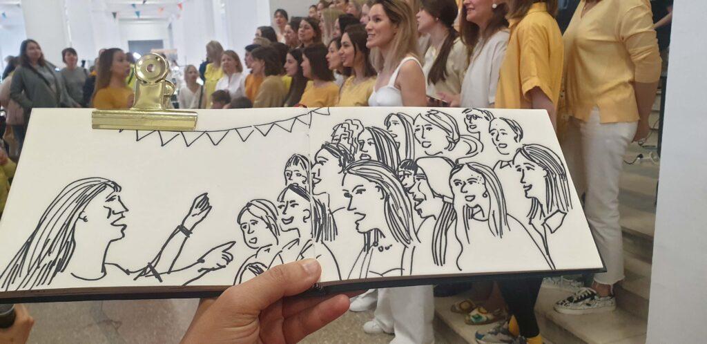 Блог Кати Осиной. Рисунки из Путешествий. Галопом по Питеру